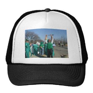 Mow-Bama (Obama) marches with the Lawn Rangers Hats