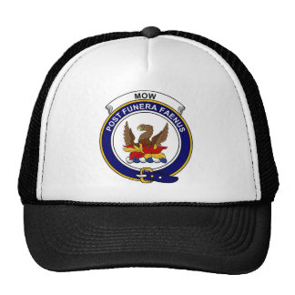 Mow Clan Badge Mesh Hat