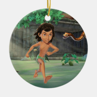 Mowgli 3 round ceramic decoration