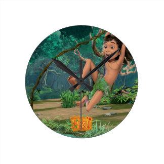 Mowgli 5 wall clocks