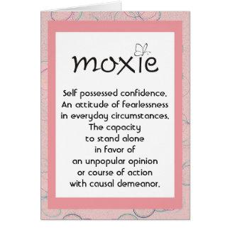 Moxie Definition card