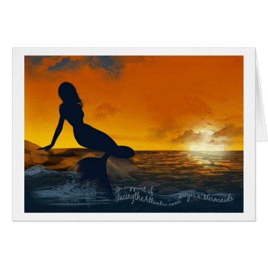 Moyer's Mermaids Greeting Card