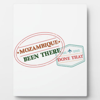 Mozambique Been There Done That Plaque