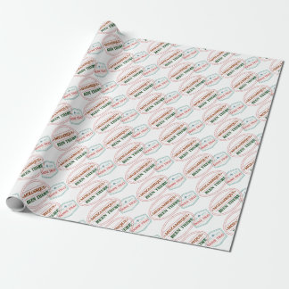 Mozambique Been There Done That Wrapping Paper