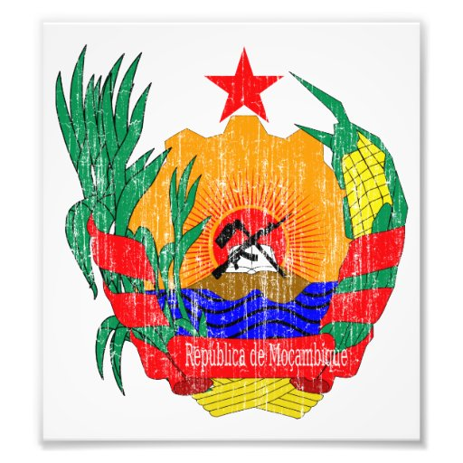 Mozambique Coat Of Arms Photo Print