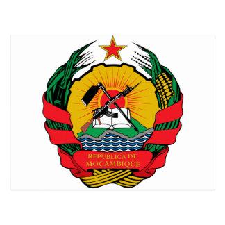 Mozambique Coat of Arms Postcard