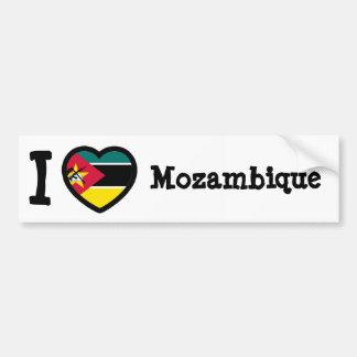 Mozambique Flag Bumper Sticker