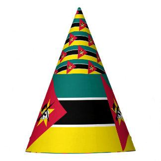Mozambique Flag Party Hat