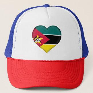 Mozambique Flag Trucker Hat