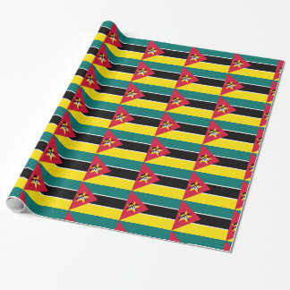 Mozambique Flag Wrapping Paper