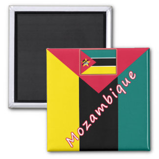 Mozambique Refrigerator Magnets