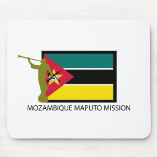 MOZAMBIQUE MAPUTO MISSION LDS CTR MOUSE PAD