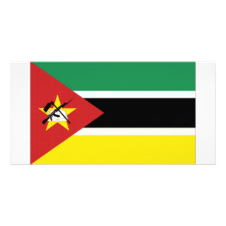 Mozambique National Flag Picture Card
