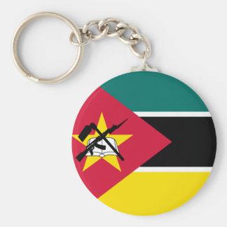 Mozambique National World Flag Key Ring
