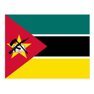 Mozambique National World Flag Postcard