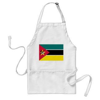 Mozambique National World Flag Standard Apron