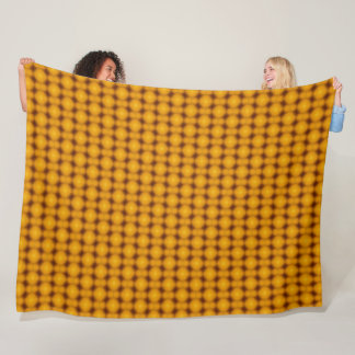 Mozambique Orange Spessartite King Stone Gems Fleece Blanket
