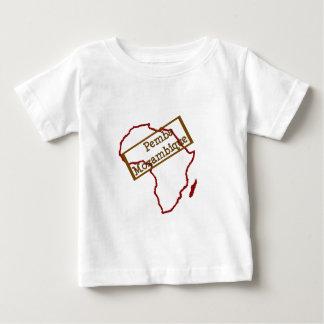 Mozambique, simple design baby T-Shirt