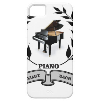 Mozart and Bach piano Barely There iPhone 5 Case