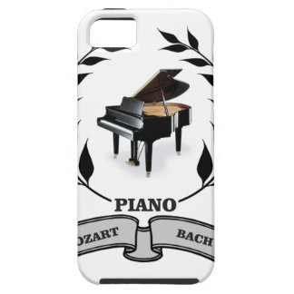 Mozart and Bach piano iPhone 5 Case