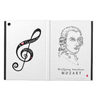Mozart Face the Music iPad Air Cases