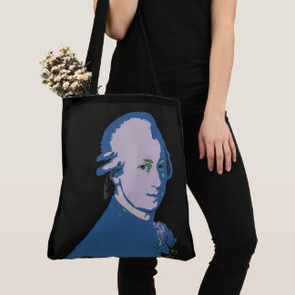 Mozart Graphic Bag by Leslie Harlow