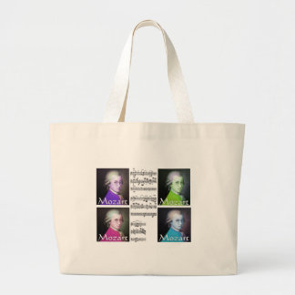 Mozart Lovers Gifts Large Tote Bag