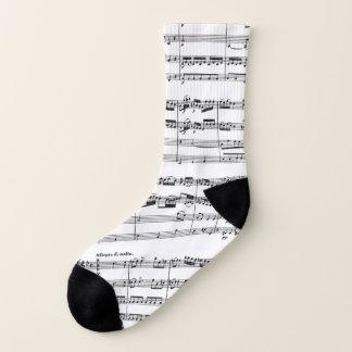 Mozart Music Socks