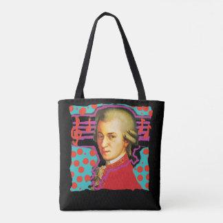 Mozart pop-art tote