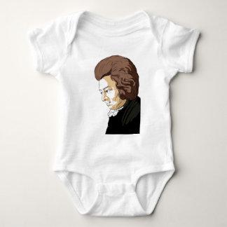 Mozart (Wolfgang Amadeus Mozart) Baby Bodysuit