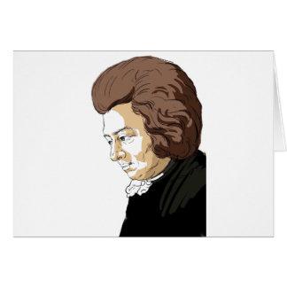 Mozart (Wolfgang Amadeus Mozart) Card