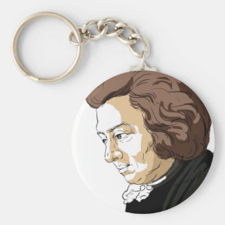 Mozart (Wolfgang Amadeus Mozart) Key Ring