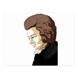 Mozart (Wolfgang Amadeus Mozart) Postcard