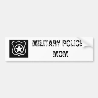 MP, MILITARY POLICE MOM BUMPER STICKER