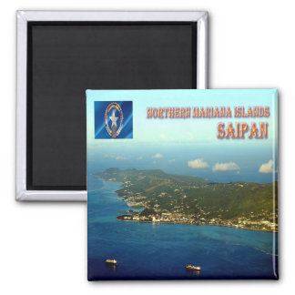 MP - Northern Mariana Islands - Saipan Magnet