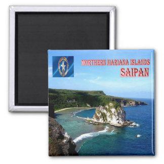 MP - Northern Mariana Islands - Saipan - Panorama Magnet