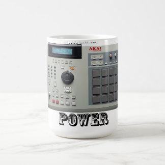 MPC Music Is Power Mug