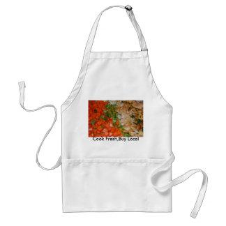 mpIII 001, Cook Fresh,Buy Local Adult Apron