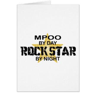 MPOO Rock Star by Night Card