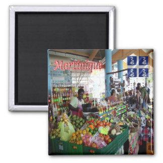 MQ - Martinique - Saint Anne - the market Square Magnet
