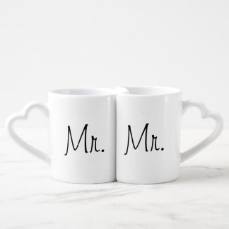 Mr. and Mr. Mugs