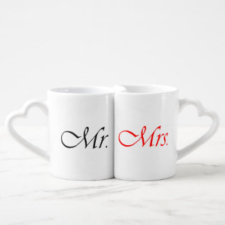 Mr. and Mrs. Couple Mugs
