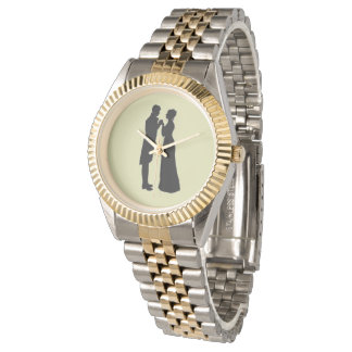 Mr. and Mrs. Darcy watch