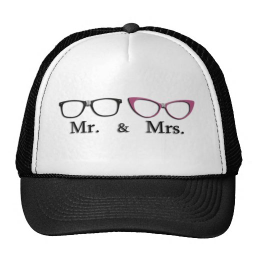 Mr. And Mrs. Geek Mesh Hat