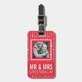 Mr and Mrs Holiday Travellers Vacation Luggage Tag