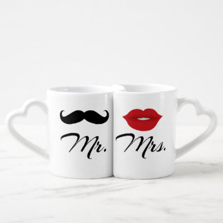 Mr And Mrs Lovers' Mug Set