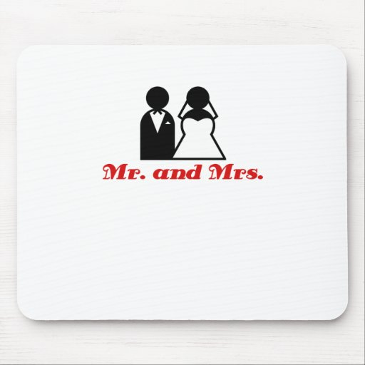 Mr and Mrs Mousepads