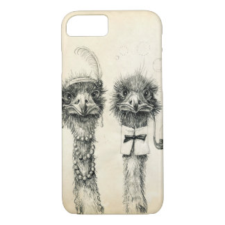 Mr. and Mrs. Ostrich iPhone 8/7 Case