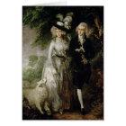 Mr and Mrs William Hallett , c.1785 Card