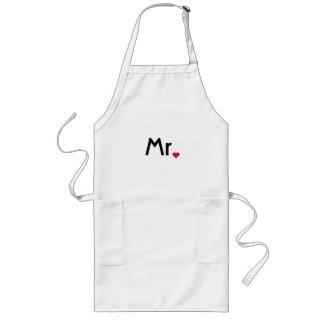 Mr apron - Mr and Mrs apron set